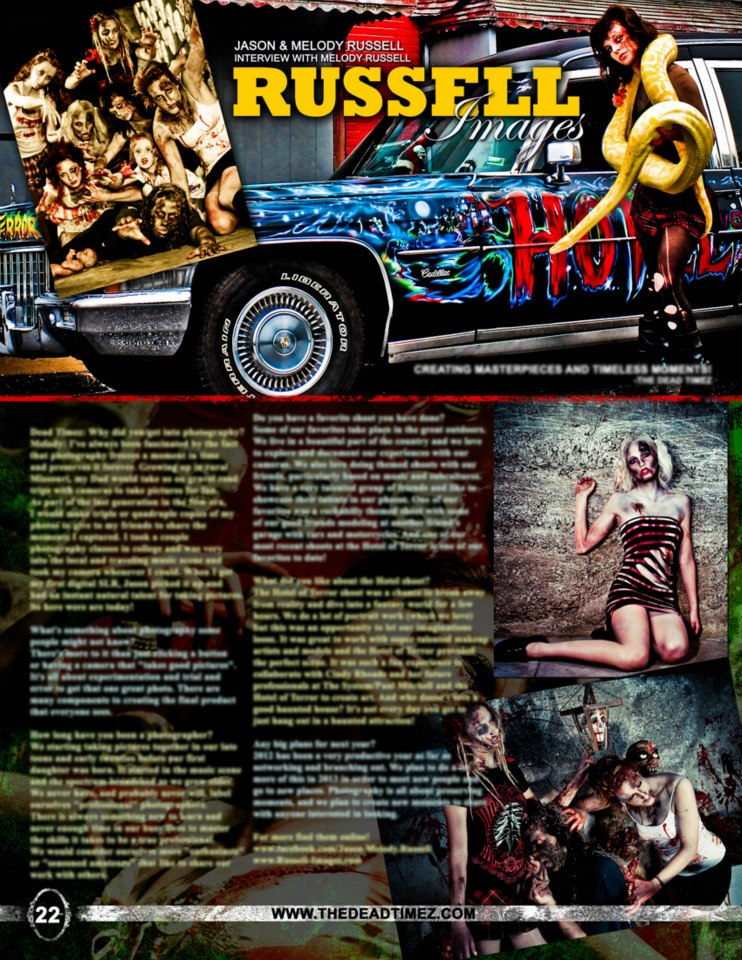 A Page from the Most recent DeadTimes Magazine